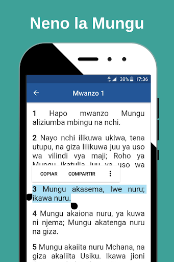 2020 Biblia Takatifu Bible In Swahili Android App Download Latest