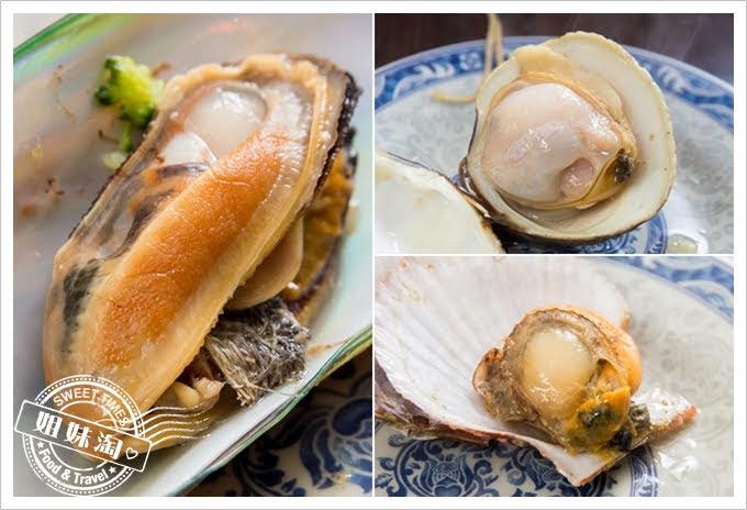 鮮蒸霸蒸氣海鮮塔海瓜子文蛤牡蠣