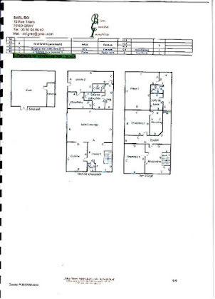 Vente duplex 7 pièces 158 m2