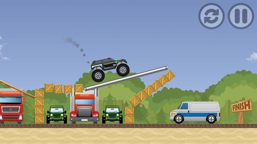 Monster Truck Xtreme Offroad Game modavailable screenshots 2
