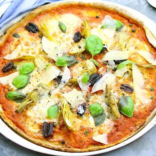 Artichoke, Olive & Caper Pizza