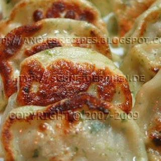 Ginseng Tea Spinach Jiaozi