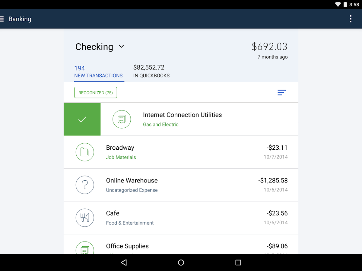 QuickBooks Accounting+Invoice- screenshot
