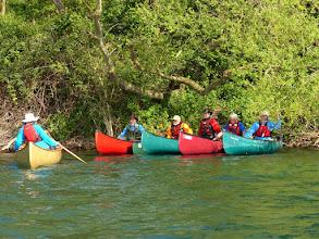 Photo: Si parte con le lezioni di Canoa Solo