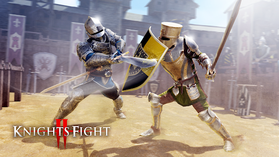 Knights Fight 2: Honor & Glory mod apk download for android 1