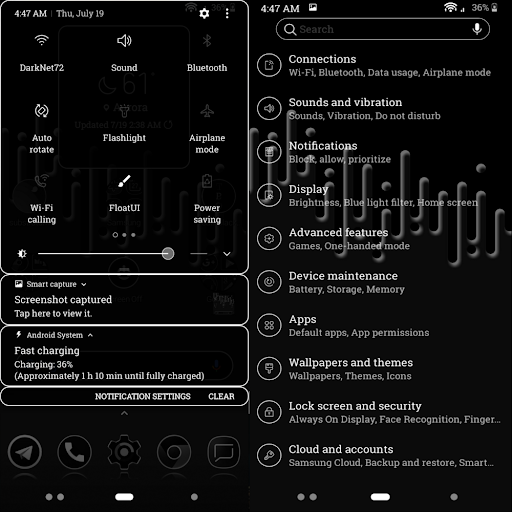 Sprite Substratum Theme Android N and O  screenshots 1