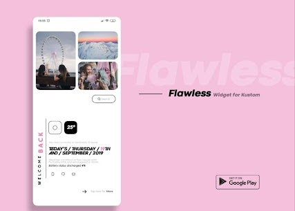 Flawless KWGT 10.0 Paid Latest APK Free Download 1