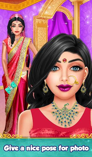 Indian Gopi Beauty Salon : Makeup Dressup Girls modavailable screenshots 14