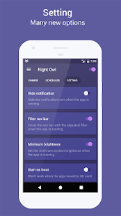 Night Owl - Screen Dimmer Screenshot