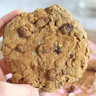Giant Oatmeal Raisin Cookie for One.