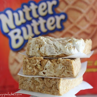 Chewy No-Bake Nutter Butter Bars.