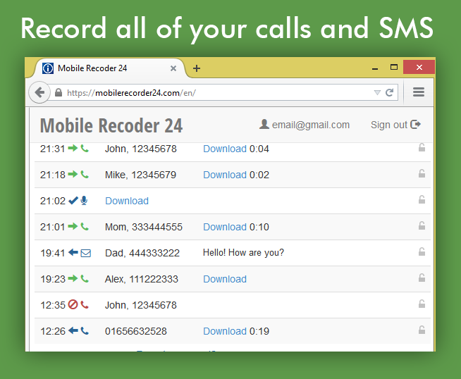 Stealth Recorder- screenshot