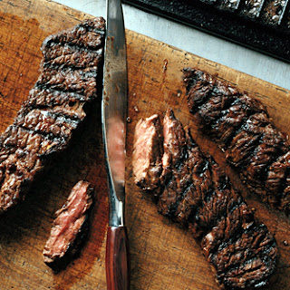 Grilled Marinated Sirloin Flap Steaks Recipe