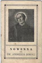 Photo: Broszurka z modlitwami oraz pieśnią i hymnem do św. A.B., 12 stron.  WAM Kraków, 1938 r.