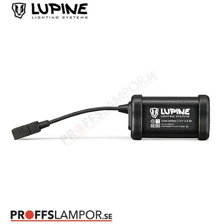 Tillbehör Batteri Lupine Hardcase 2.2 Ah