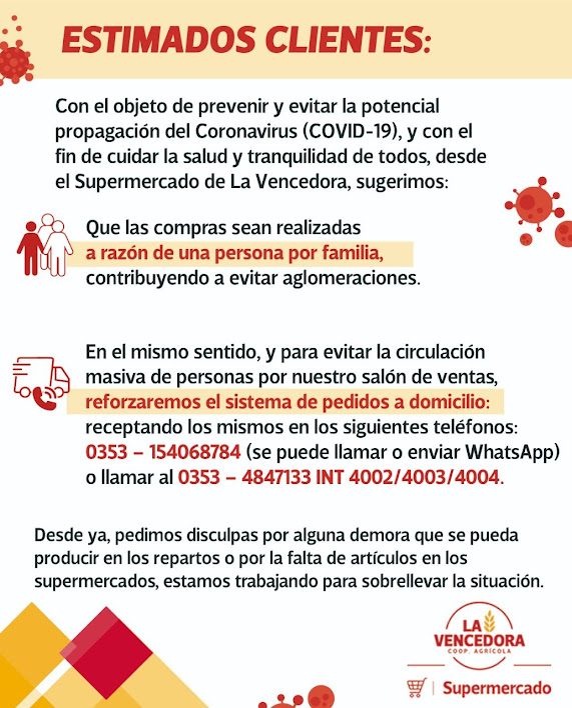 COOPERATIVA AGRÍCOLA LA VENCEDORA