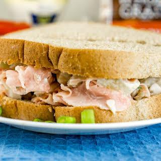 Hawaiian Chicken Salad Sandwich.