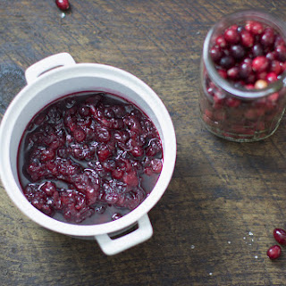 Whiskey Spiked Cranberry Sauce