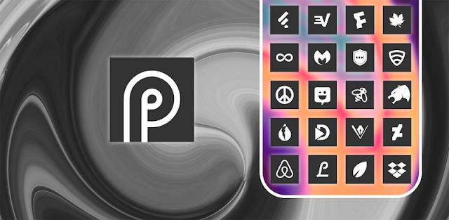 Square Dark UX - Icon Pack
