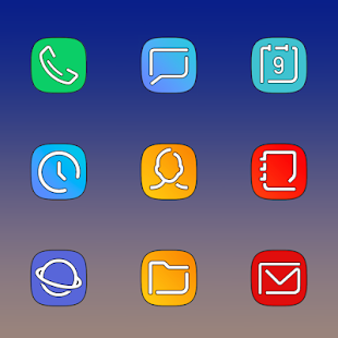 GALAXY X - ICON PACK Screenshot