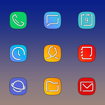 GALAXY X - ICON PACK Screenshot Image