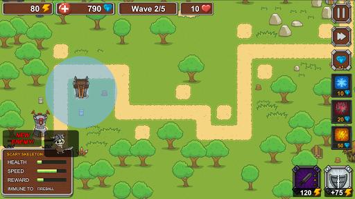 Tower Defense - Skeleton army screenshot 3
