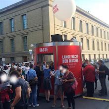 Photo: Veloform Media bboxx SOLID Ticket Counter for Lange Nacht der Museen Berlin 2015