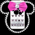 Diamond Minny Bow Theme Wallpaper icon