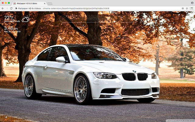Bmw Full Hd Car Wallpaper New Tab Theme