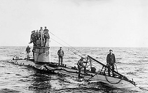 Doomed German U-boat found near Belgium -- 23 bodies still on board