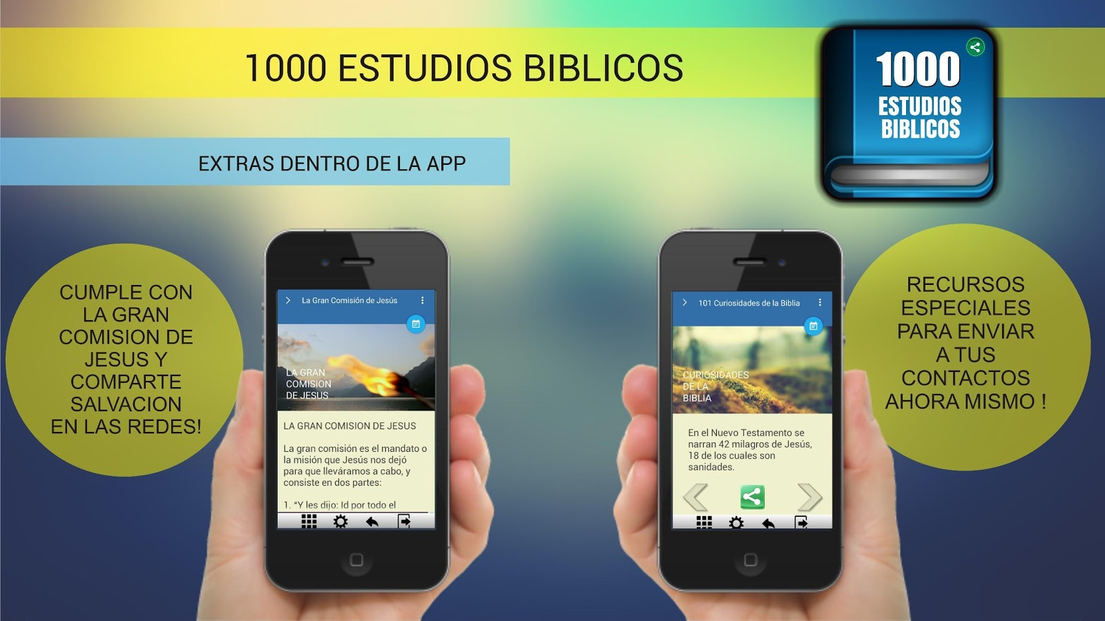 1000 Estudios Biblicos- screenshot