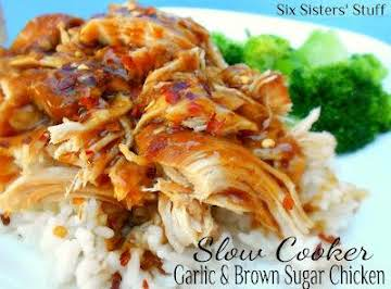Garlic and Brown Sugar Chicken - Slow Cooker