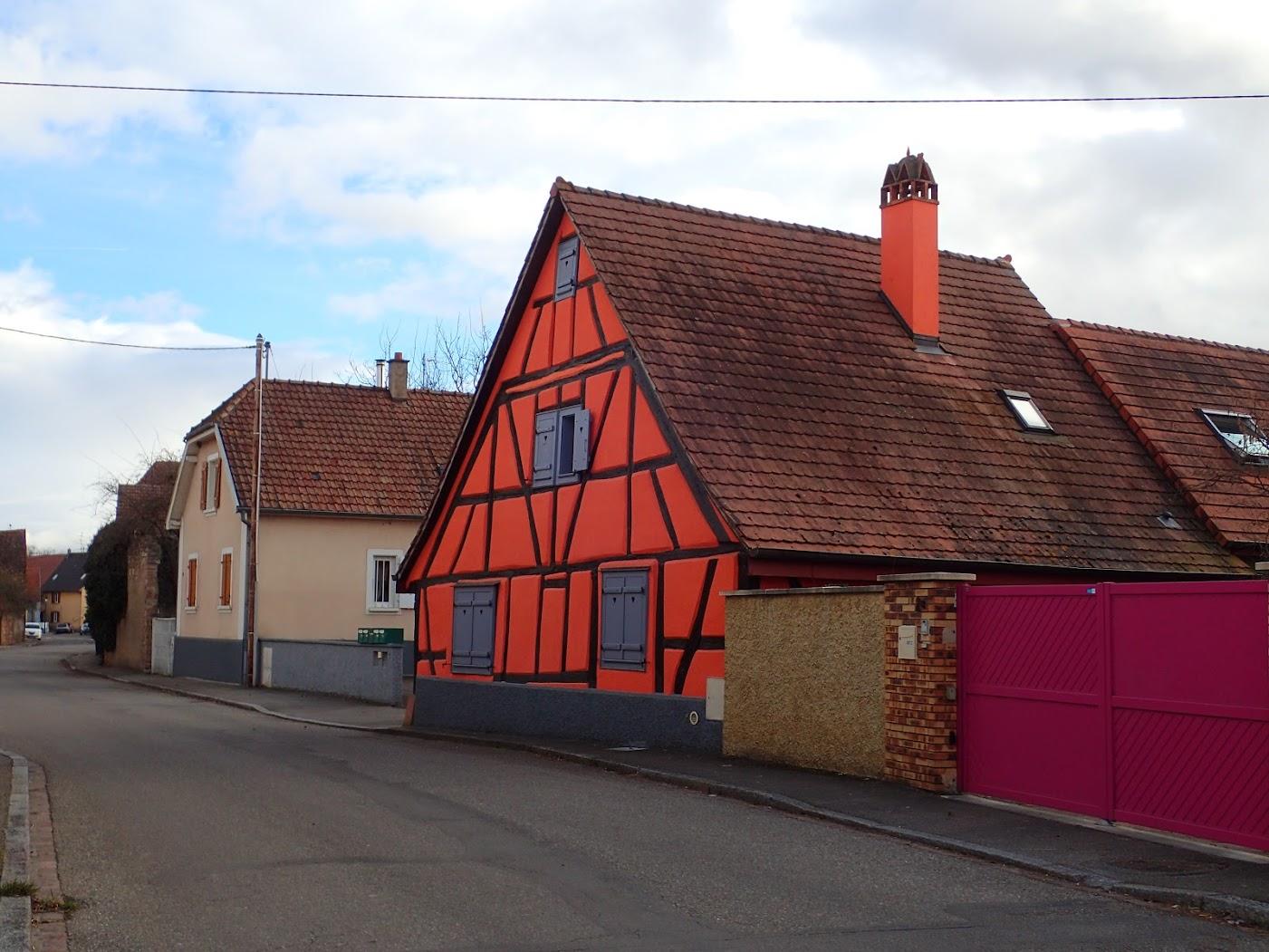 maison typique alsacienne (Réguisheim)