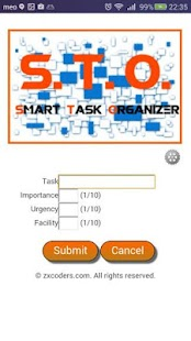 Smart Task Organizer- screenshot thumbnail