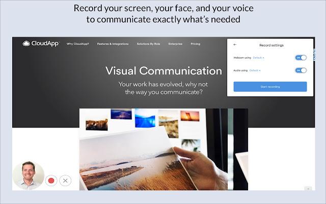 CloudApp Screen Recorder, Screenshots