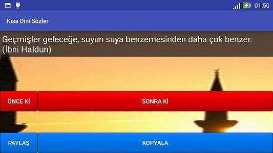 Kısa Dini Sözler screenshot 7