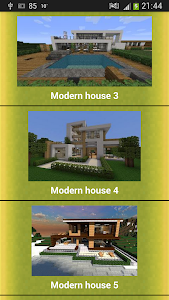 Modern Buildings Blueprints screenshot 1