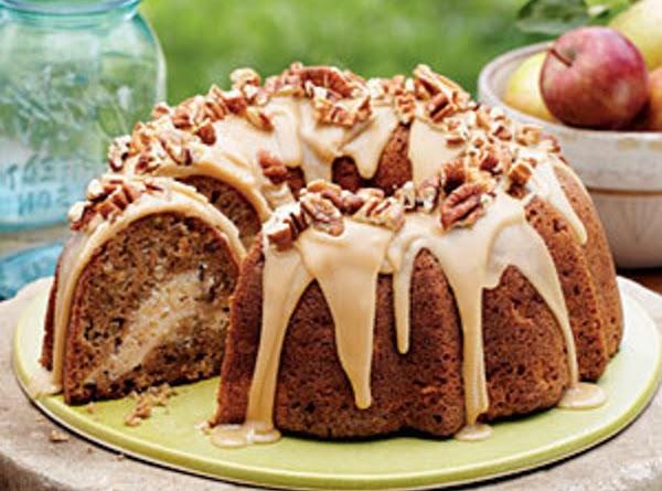 Apple Cream Cheese Bundt Cake Recipe