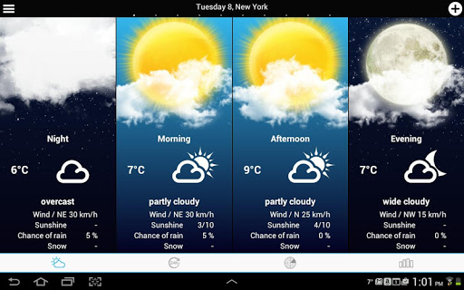 USA Weather forecast screenshot 9