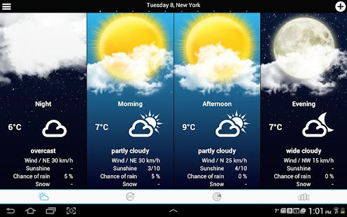 USA Weather forecast- screenshot thumbnail