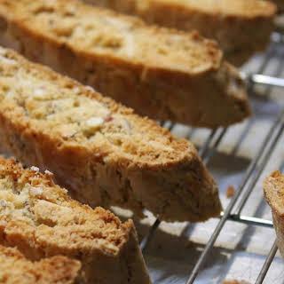 Crunchy Almond Biscotti.
