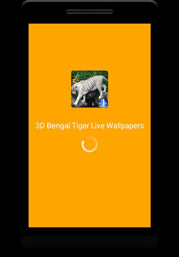 Bengal Tiger Live Wallpaper  screenshots 1