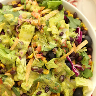 Vegetarian Mexican Chopped Salad.