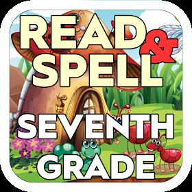 Read & Spell Game 7th Grade
