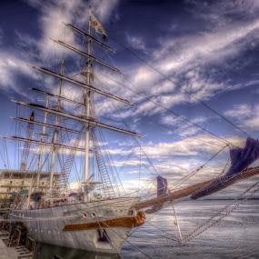 A Ship~~ by Kay Eimza - Transportation Boats