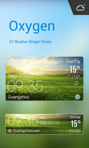 Widget for Samsung Galaxy