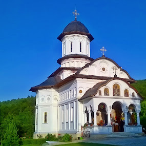 Romanian church by Ciprian Apetrei - Instagram & Mobile Other ( building, christianity, church, romania, traditional )