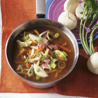 Root Veg and Pork Broth