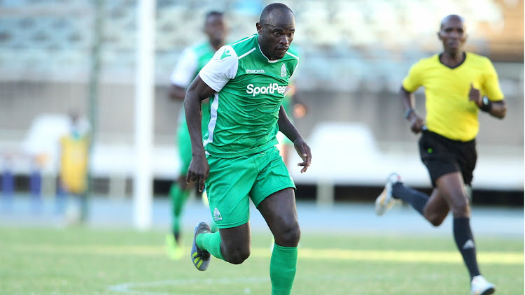 Dennis Oliech during his final days at Gor Mahia