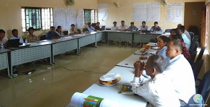 Photo: Active participation during workshop